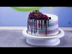 Торт Raffaello. Простой вкусный рецепт домашнего торта. Украшение и выравнивание без мастики - YouTube