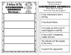 Printables Realistic Fiction Worksheets literature the ojays and folktale on pinterest