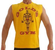 fda585f68b06f4 Golds Gym Sleeveless Shirt TO logo.