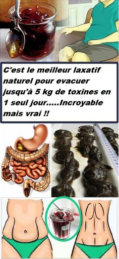 """This is the Best Natural Laxative to Clear all the """"Stuck Poop"""" in Your Intestines… You Will Lose 3 Kg in 1 Day! - Fitness, Nutrition, Tools, News, Health Magazine Detox Drinks, Healthy Drinks, Get Healthy, Healthy Tips, Healthy Eating, Natural Cures, Natural Healing, Health Remedies, Home Remedies"""
