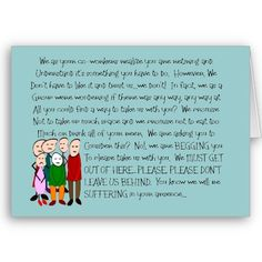 Hilarious Retirement Card--From The Gang! from http://www.zazzle.com/funny+retirement+gifts