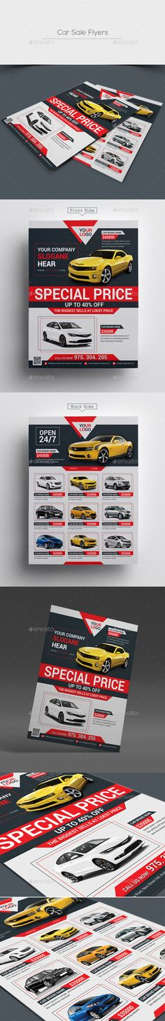 Taxi Cab Flyer Flyer template - car for sale flyer template