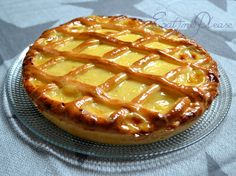 Tarte au Libouli - Eat Me Please Sweet Recipes, Vegan Recipes, Cooking Recipes, Croissants, French Patisserie, Great British Bake Off, Sweet Pie, No Cook Meals, Dessert Recipes