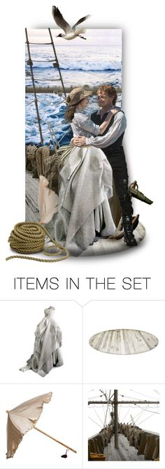 """Outlander_ The sea voyage to France"" by auntiehelen ❤ liked on Polyvore featuring art"