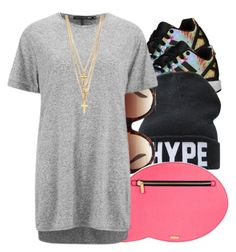"""""""Sept. 7 2k15"""" by thebaddestbaddie ❤ liked on Polyvore featuring adidas Originals, Forever 21, Skinnydip and rag & bone"""