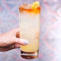 Bartender Nick Korbee, the executive chef and beverage director at Egg Shop in New York City, uses honey in his tequila cocktail, with a touch of smokiness thanks to a mezcal wash, which goes brilliantly with the sweet nectar and tart lemon.