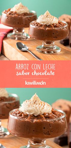 Discover recipes, home ideas, style inspiration and other ideas to try. Mini Desserts, Classic Desserts, Homemade Desserts, Sweets Recipes, Mexican Food Recipes, Cooking Recipes, Chocolate Deserts, Chocolate Flavors, Deli Food
