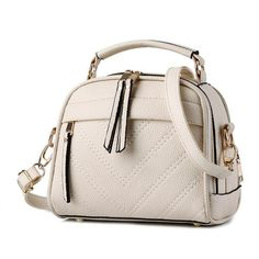 cb10ac77911c PU Leather Small Female Shoulder Bag. Casual BagsLuxury HandbagsFashion ...