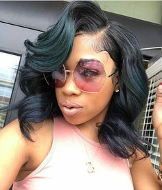 You can achieve this look with our Virgin Brazilian Straight Hair Extensions, Bundle Deals Starting at $167