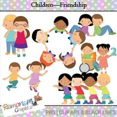 This set depicts children of different races, sex and abilities enjoying one another's company. It promotes children to accept one another although they may be different in appearance or background.