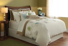 3Pc Spring Flower Duvet Set - In Store Only