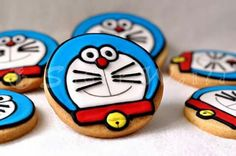 Galletas decoradas Doraemon