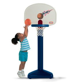 Another great find on #zulily! Shoot & Slam Basketball Set by Little Tikes #zulilyfinds