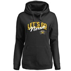bdaf3c4c Northern Kentucky University Norse Women's Plus Sizes Let's Go Pullover  Hoodie -Black