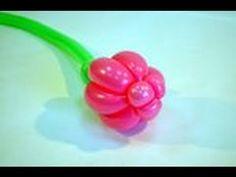 Como hacer una flor tulipan de globos- How to make a balloon tulip flowe...