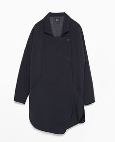ZARA - NEW THIS WEEK - FLOWY DOUBLE-BREASTED JACKET