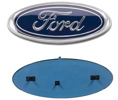 Ford F-150 Platinum Logo and Nameplate Chrome Stainless Steel License Plate