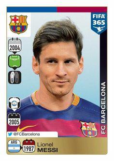 Panini 365: Gold Sticker - Lionel Messi