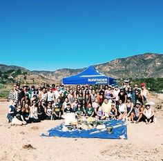Bruins Phi Sigma Rho sisters spent their day on the beach for a clean up event
