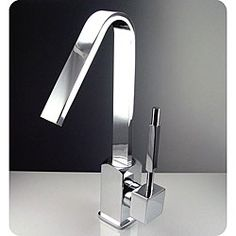 @Overstock.com.com - Fresca Liris Single Hole Mount Chrome Bathroom Faucet - Do you want to freshen up your bathroom decor? Go no further than the Fresca Liris single handle chrome faucet. This center-set faucet features a uniquely modern single-lever control with ceramic disc valve for longevity and water-tight functionality.  http://www.overstock.com/Home-Garden/Fresca-Liris-Single-Hole-Mount-Chrome-Bathroom-Faucet/5209632/product.html?CID=214117 Add to cart to see special price