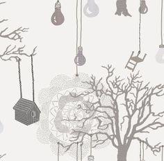 Imogen Luddy Treelights wallpaper