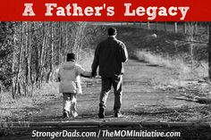 My dad wasn't perfect but he did a lot of things right!! A Father's Legacy by Rob Teigen (and a BIG GIVEAWAY!) The M.O.M. Initiative