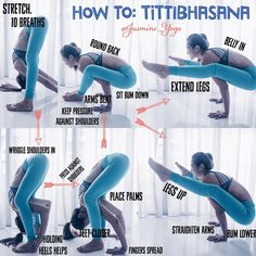 """#YogaTutorial : #tittibhasana / #fireflypose   The trickiest bit for thus one is practicing squeezing…"""