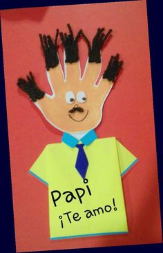 Fathers Day Art, Fathers Day Crafts, Happy Fathers Day, Kids Crafts, Preschool Crafts, Diy Father's Day Gifts, Father's Day Diy, Diy Father's Day Cards, Father's Day Activities