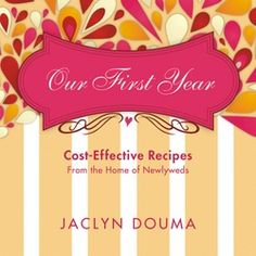Our First Year Cookbook - an amazing cookbook for newlyweds or empty nesters. Budget friendly recipes and entertaining ideas New Recipes, Snack Recipes, Dessert Recipes, Easy Recipes, Favorite Recipes, Snacks, Christmas Coal, Homemade Chocolate Pudding, Best Cookbooks