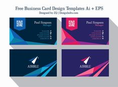 Vistaprint Business Card Template Illustrator Beautiful Adobe Illustrator Business Card Template with Bleed Free Business Card Design, Create Business Cards, Business Cards Layout, Premium Business Cards, Business Card Design Inspiration, Business Card Psd, Free Business Card Templates, Elegant Business Cards, Professional Business Cards