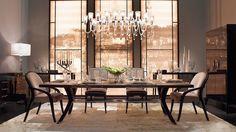 Messing Esstische | klassische moderne Wohnideen, Mid Century Inspirationen, Minimalismus Design, zeitgenössiges Design und eklektische Inspirationen. High-end Möbel Inspirationen