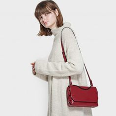 Browse our latest collection of women's bags, shoes and accessories at CHARLES & KEITH. Find reinvented classics, stylish basics, and trendy occasion wear. Charles Keith, Chain Shoulder Bag, Occasion Wear, Bag Accessories, Fashion Forward, Christmas 2017, Stylish, Pewter, Red