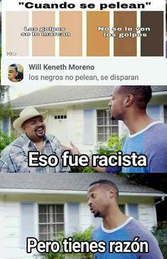 Dios que racista #futbolgracioso