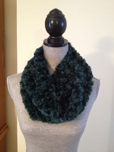 Luxury Plush Infinity Scarf in Forest Green: $20.00   This scarf is made from a soft plush fabric that layers beautifully and feels gentle against the skin. Please note that due to limitation in material that this scarf is the same length as a regular infinity scarf. Infinity, Layers, Feels, Plush, Note, Luxury, Fabric, Green, Beauty