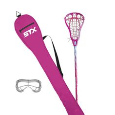 Pink Lacrosse Stick Stick Sports, Lacrosse Sticks, Sports Equipment, Outdoor Decor, Pink, Pink Hair, Roses