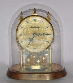 Piękny+zegar+z+kulkami+obrotowymi+zegary+kominkowe+stojące