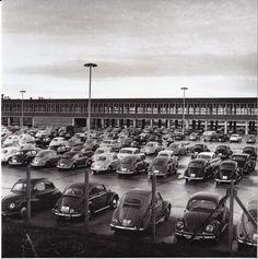 HANNOVER Parkplatz des VW-Werks in Stöcken