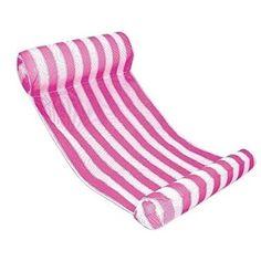 DAS Leben Wasser Luftmatratze, Schwimm Reihe mit Mehrfarb (rosa)