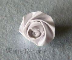 Alternative quilled roses