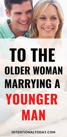 How do we navigate age-difference in a relationship, especially where the woman is older? Society for the most part looks at such a relationship with a little skepticism and suspicion, compared to a relationship where the man is older than the woman. How to deal with the distrust and practical thoughts for the older woman married to the younger man #marriageadvice #newlywedadvice #marriage #intentionaltoday #olderwoman #agegap #happymarriage #youngerman