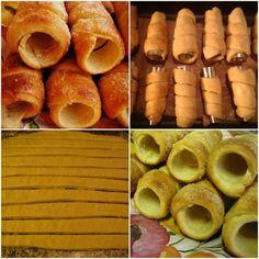 Kurtos Kalacs, Minion, Hot Dogs, Sausage, Ethnic Recipes, Food, Sausages, Essen, Minions