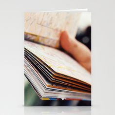 Finding your way Stationery Cards by Anja Hebrank - $12.00   #london #uk #england #autumn #travel #travelling #travellersguide #guide #book #hand #reading #people #persons #streetphotography #canon #present #decoration #kitchen #interior #colour #photography #picture #travelling #travelphotography #design #individual #society6 #print #art #artprint #interior #vintage #retro #stationerycard #postcard #card