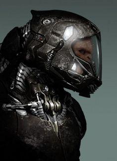 Thug-Helmet-Concept | Cyberpunk | Pinterest