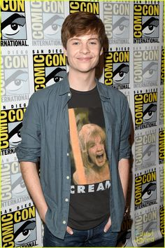 John Karna at the Comic-Con 2015