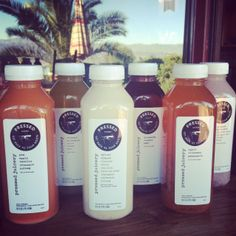 Pressed Juicery Holiday Sampler! The Spiced Almond tasted like the holidays in bottle! (But, seriously.)