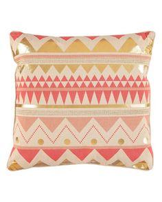 Bindy Foil Ember Glow Decorative Pillow - 20
