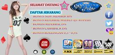 99onlinepoker adalah website agen poker & domino qiu qiu online indonesia terbaik dan terpercaya di dukung dengan pelayanan yang 24 jam dan pembayaran http://99onlinepoker.online