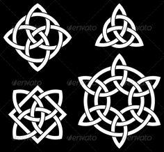 Celtic Knots Collection - Decorative Symbols Decorative