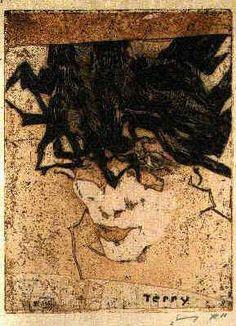 Horst Janssen (1929 - 1995) Artista gráfico alemán.-