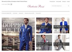 ESHOP, la Boutique Virtuale di Sartoria Rossi The Wedding Italia